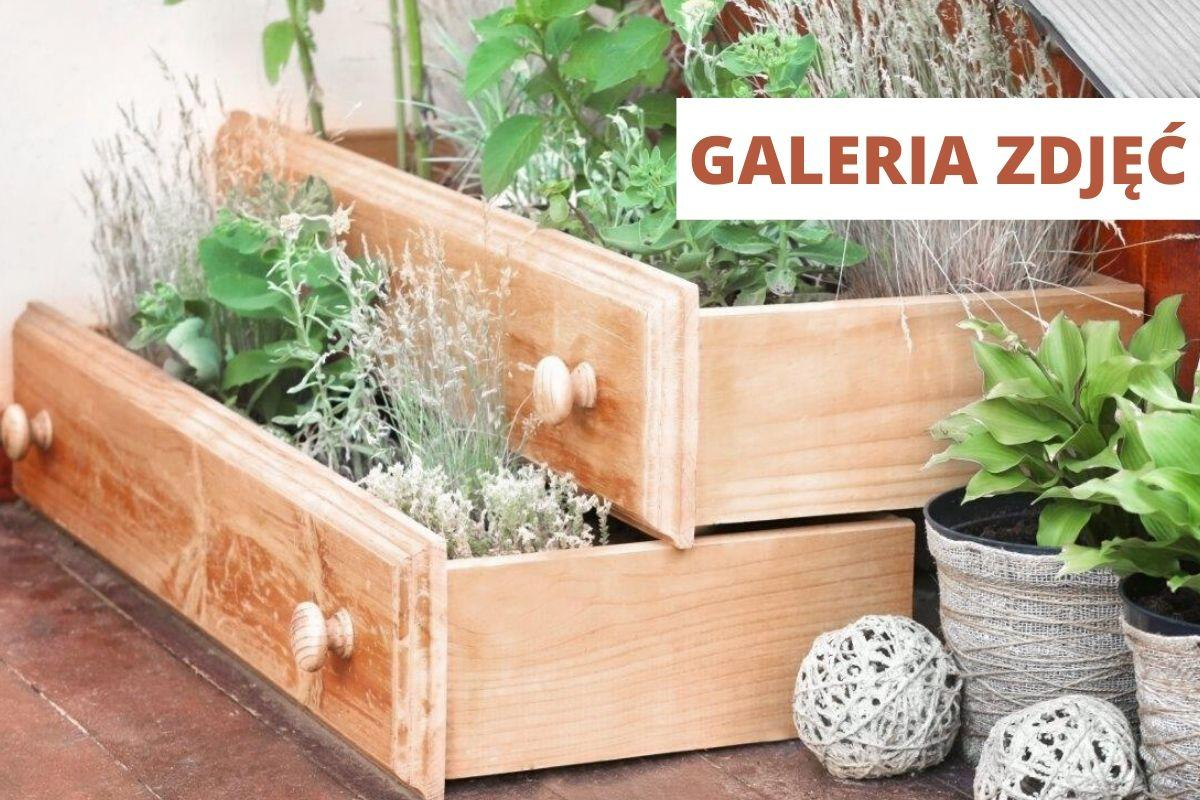 Ozdoby do ogrodu z drewna - zrób to sam