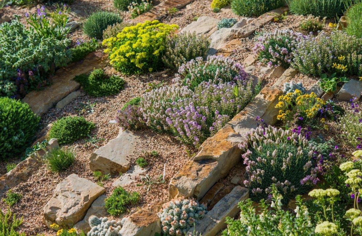 Ozdoby z kamieni do ogrodu - Dekoracja ogrodu zrób to sam
