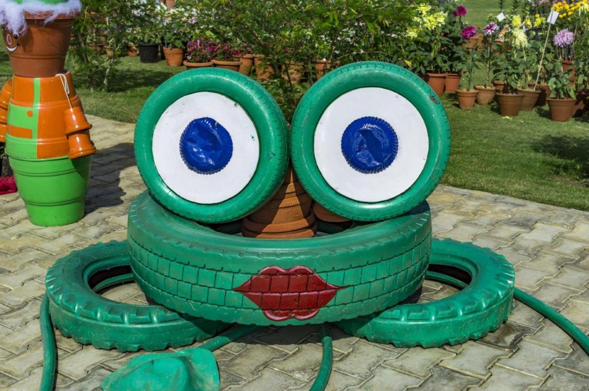 Zabawki i rozwiązania dla dzieci do ogrodu - Zrób To Sam